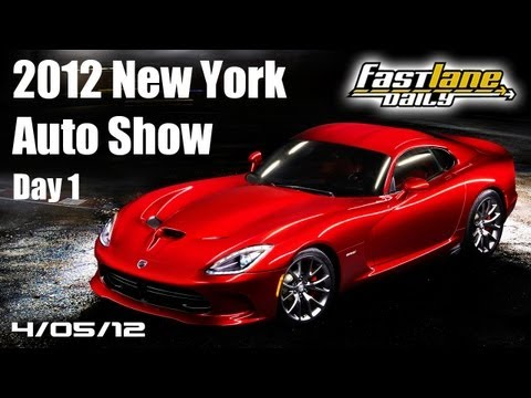 2012 New York International Auto Show - Day 1