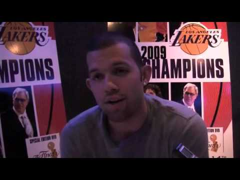 Jordan Farmar, on the Championship DVD, poker and Lamar Odom