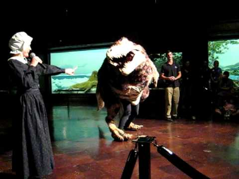 MARY ANNING AND THE TAP-DANCING T-REX