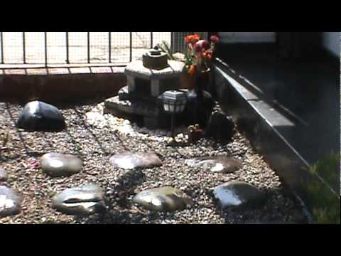 Jardin japones youtube for Jardines pequenos orientales