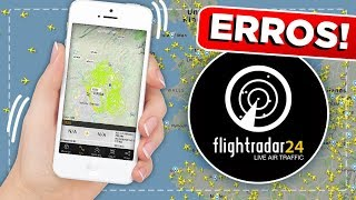 ERROS DO FLIGHT RADAR 24 EP #458