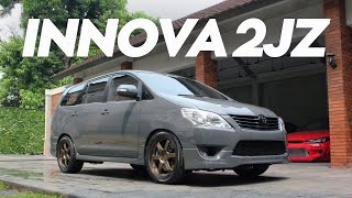 Modifikasi Ekstrim! | Review Innova 2JZ