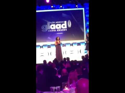 Kerry Washington acceptance speech for Vanguard award at 26