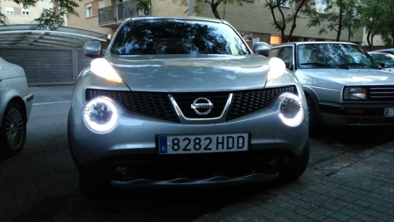 Nissan Juke 2014 Drl Youtube