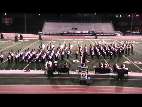 Benton High School Band in competition at Lake Hamilton 10-20-2012