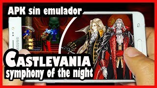 DESCARGA CASTLEVANIA SYMPHONY OF THE NIGHT APK SIN EMULADOR