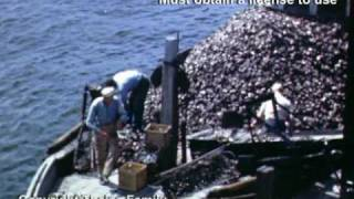 Oyster Fishing Vintage Video - 1940