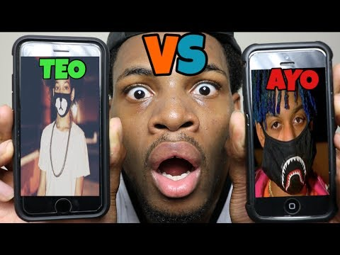 CALLING AYO AND TEO *THEY HAD A FIGHT* ROAST BATTE!