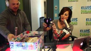 Greg T Unwrapping | Elvis Duran Exclusive