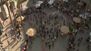 Official Michael Jackson Flash Mob - Hollywood & Highland