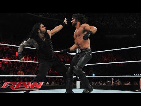 Roman Reigns vs. Seth Rollins: Raw, March 2, 2015 thumbnail