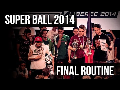 "Adrian Franc ""Franek"" - Super Ball 2014 - Final Routine - [R-Style Freestyle Football]"