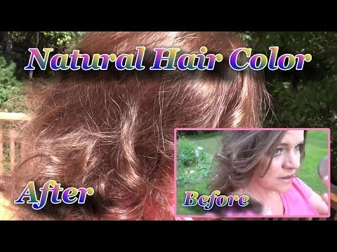 Henna -  Healthy Hair Color! :) How to Color / Highlight Your Hair with Natural Dyes