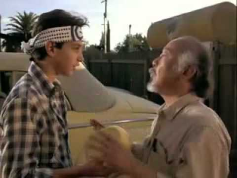 Karate Kid - Wax on Wax off