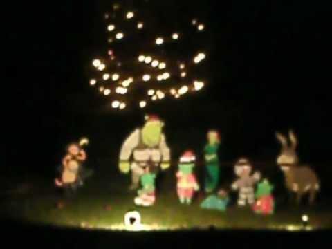 Western Carolina Center Christmas Lights