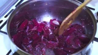 Ethiopian Food Beetroot & Potato Vegan (Amharic)