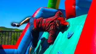 DRUNK BOUNCY HOUSE CHALLENGE