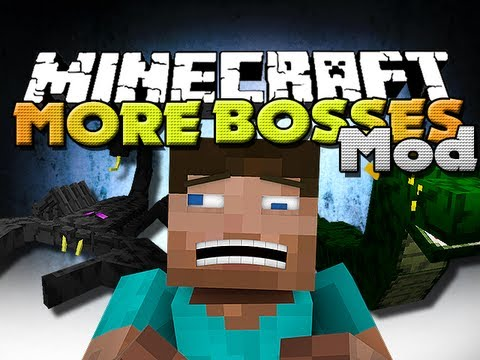 Minecraft Mods - Ultimate Bosses Mod - New Bosses, Mobs, and Items!!