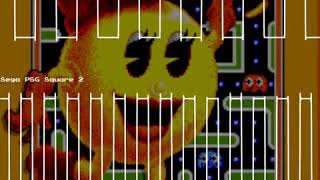 Act 2: The Chase - Ms. Pac-Man - Sega Master System -