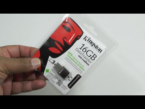 Kingston Data Traveler Micro Duo 16GB - perfect keychain data mover for phones [Review]