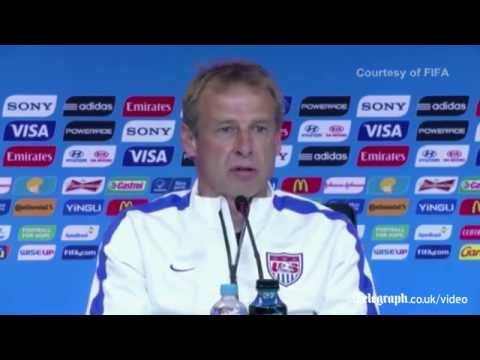 Jurgen Klinsmann unhappy with choice of Algerian referee