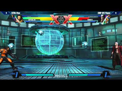 Ultimate Marvel vs Capcom 3 Top 32 Semifinals Part 1 - Winter Brawl 8 Tournament