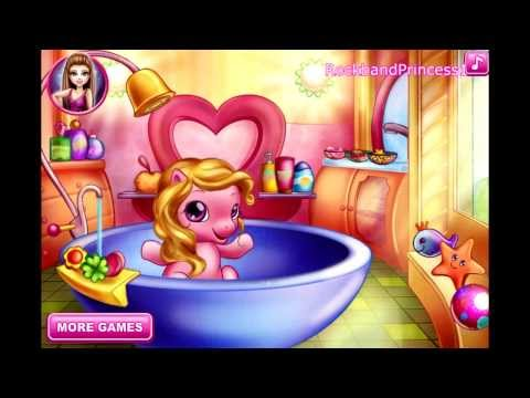 Game | Baby Pony Bath Games Bathtime For Ponies | Baby Pony Bath Games Bathtime For Ponies