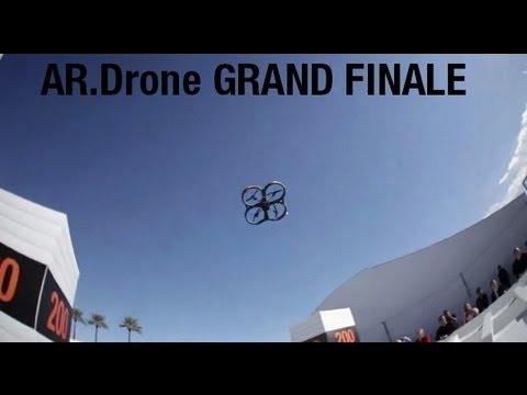 THE AR.Drone GRAND FINALE highlights (Las Vegas, CES 2012)