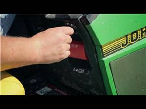 Lawn Mowers : Starting a Riding Lawn Mower