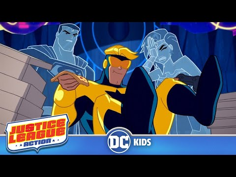 Justice League Action | Booster Antics | DC Kids