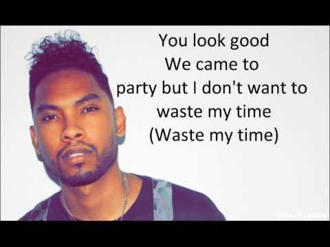 Miguel How Many Drinks Remix Lyrics Video