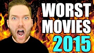 The Worst Movies of 2015