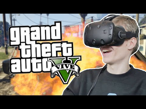 GRAND THEFT AUTO VIVE  | GTA 5: Online (HTC Vive Gameplay)