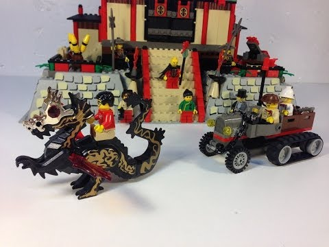 LEGO Adventurers Orient Expedition 7419 Dragon Fortress vintage set review