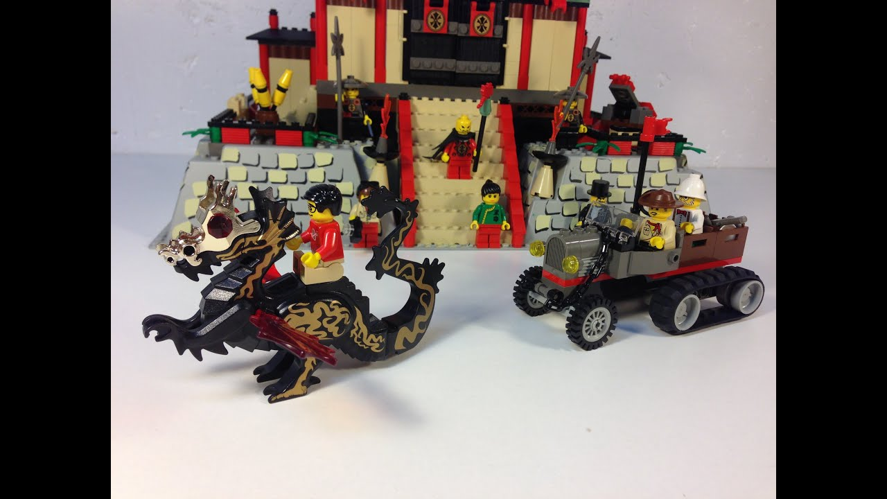 Lego Adventurers Orient Expedition 7419 Dragon Fortress