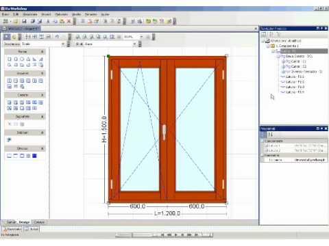 Ra workshop wood windows design software youtube for Wood house design software