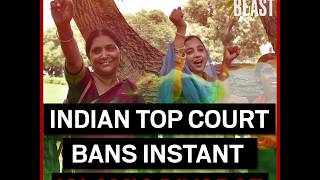 Indian Top Court Bans Instant Divorce