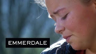Emmerdale - Robert Tries to Console a Heartbroken Liv