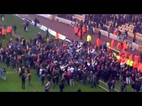 Wolves FC Pitch Invasion vs Burnley - 27/04/2013