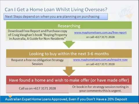 Can I Get a Home Loan if I am an Australian Citizen Living Abroad (Australian Expat)