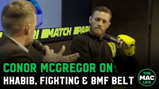 Conor McGregor on desire to compete, predicts Diaz vs. Masivdal & Khabib vs. Tony Ferguson