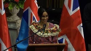 Meghan Markle takes spotlight in Fiji to back female education