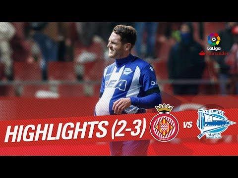 Resumen de Girona FC vs Deportivo Alavés (2-3)