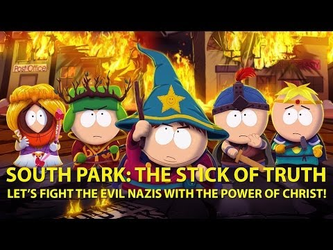 South Park: The Stick of Truth - nazi zombies fight + Jew-Jitsu