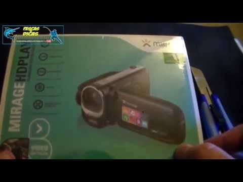 (Unboxing) Filmadora Mirage HD Play Multilaser [PESCAS & DICAS] HD