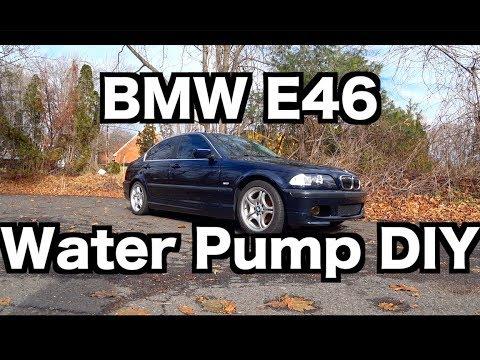 BMW E46 Water Pump DIY