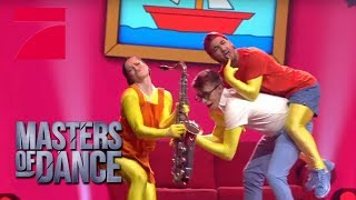 The Simpsons Dance - Vinzenz, Anita & Dennis PREVIEW | Masters of Dance | Finale | ProSieben