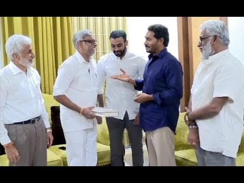 Daggubati Meets YS Jagan Mohan Reddy || కుమారుడు హితేశ్ తో కలిసి జగన్ ఇంటికెళ్లిన దగ్గుబాటి