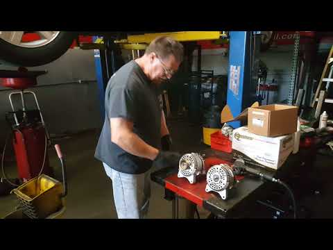How to replace the alternator on a 4.6. 5.4 or 6.8 Triton engine