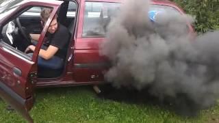Ford escort 1.8TD 400hp (start up)
